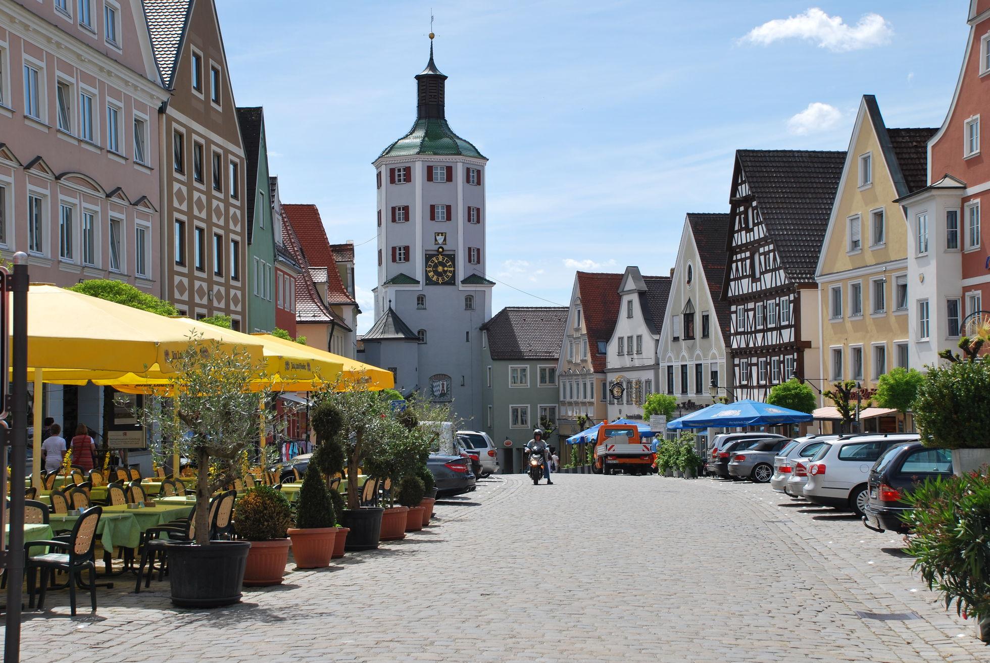 Foto der Günzburger Altstadt