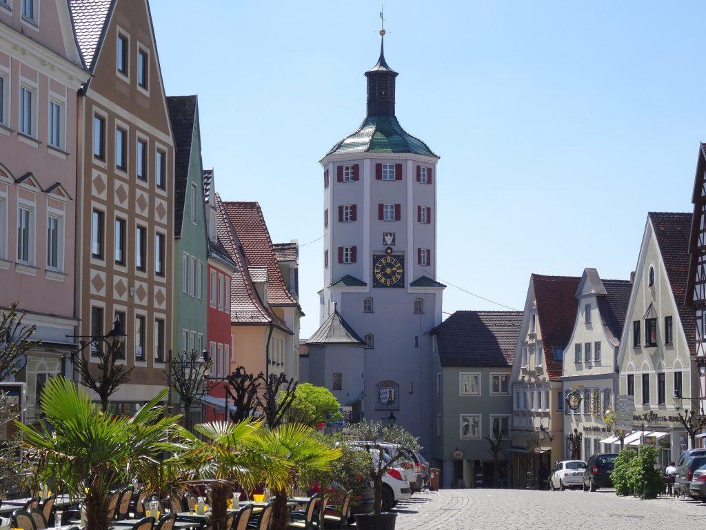 Foto der Altstadt Günzburg